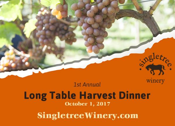 Singletree Table Harvest Dinner October 1, 2017